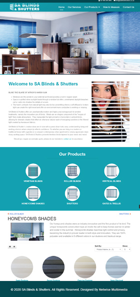 SA Blinds and Shutters